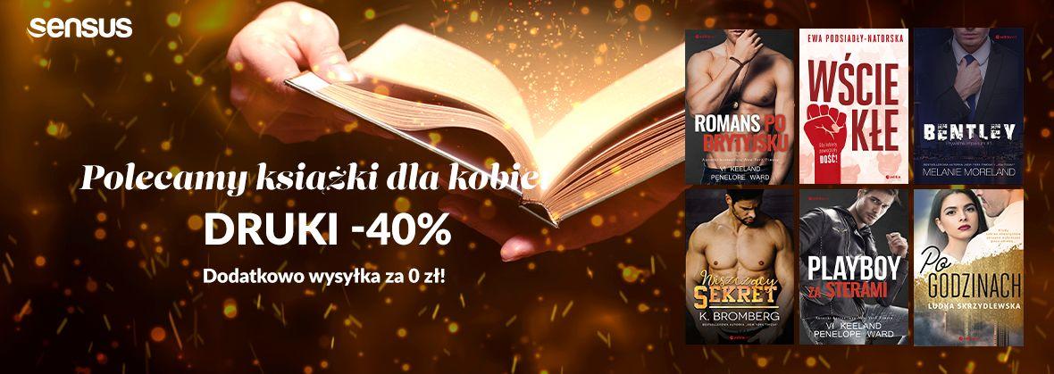Promocja na ebooki [-40%] Książki dla Kobiet